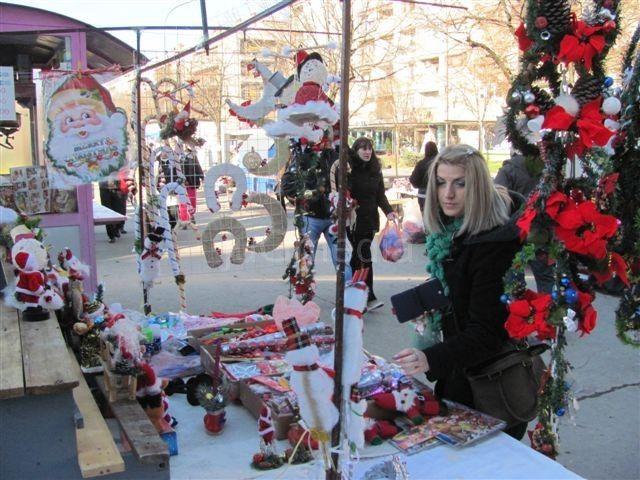 Ponovo novogodišnji vašar u centru Leskovca