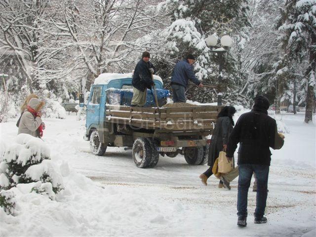Sneg odsekao sela u leskovačkom kraju