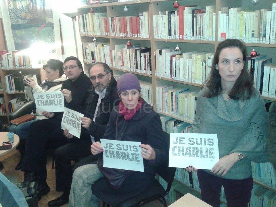 """""""Je suis Charlie"""" – poruka solidarnosti iz Niša"""