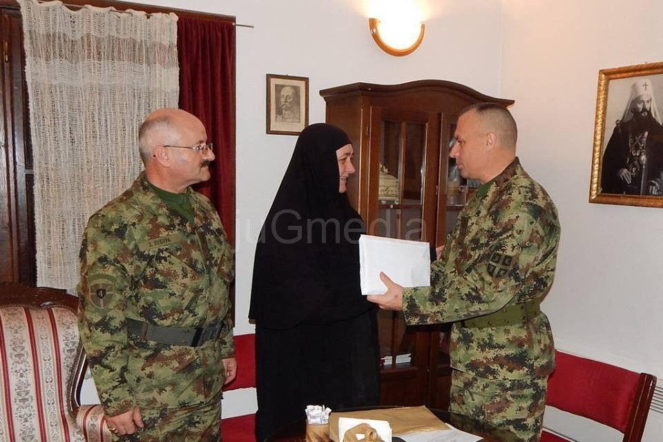 General Simović uručio donaciju vojske za obnovu Prohora