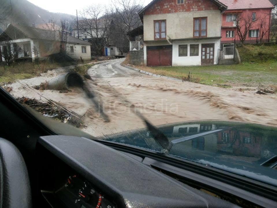 Vanredna situacija u Vranjskoj Banji i vranjskim selima