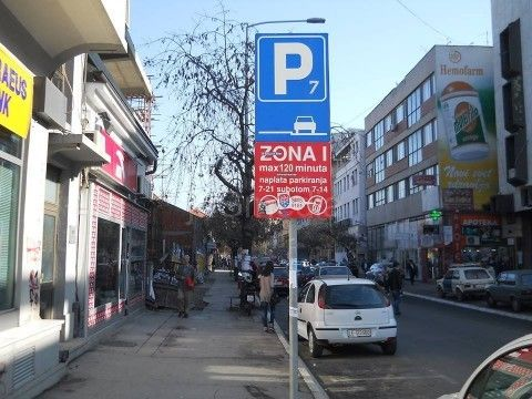 Novčanik tanji od 4.000 do skoro 32.000 dinara za nepropisno parkiranje
