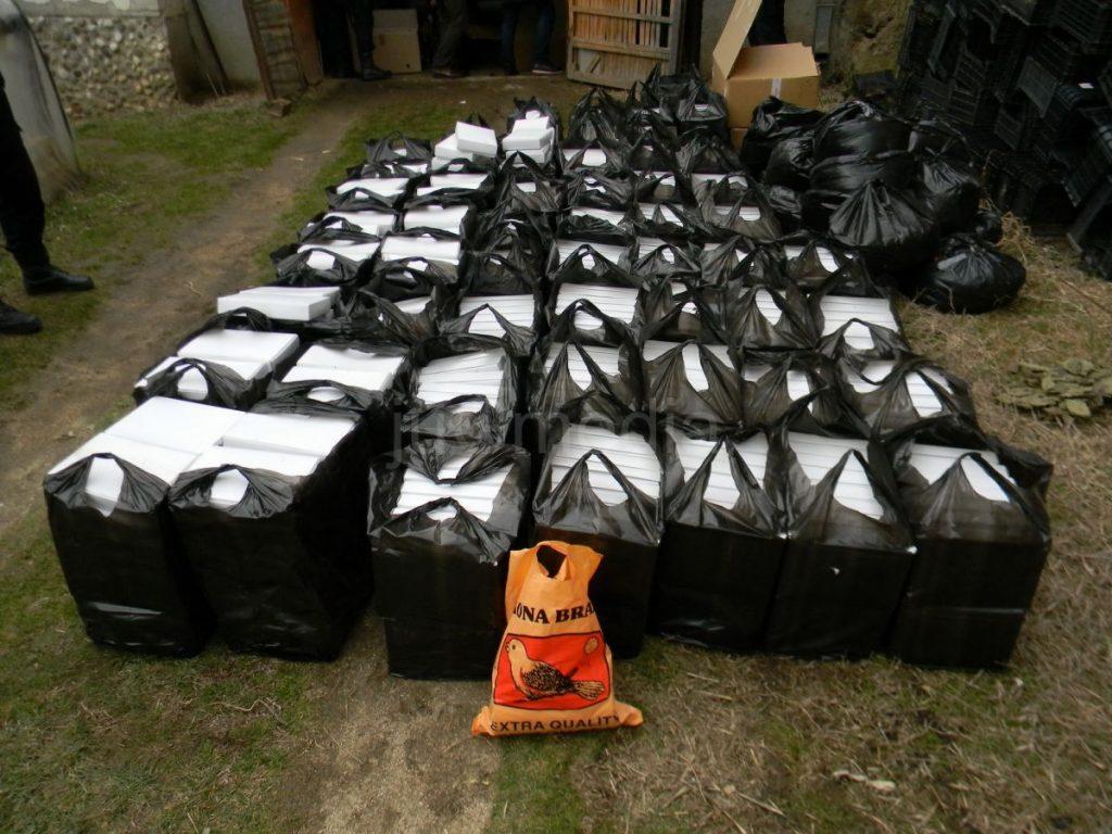 Policija pronašla preko 900 kilograma rezanog duvana