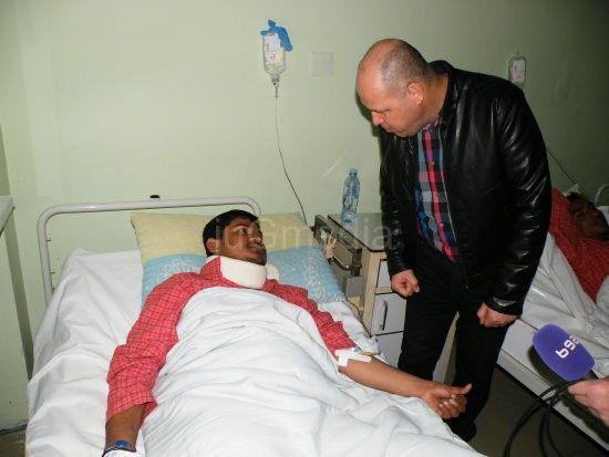 Povređeni emigranti uspešno se oporavljaju, stigla donacija