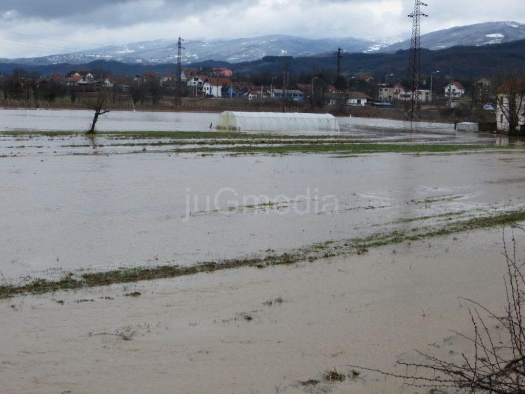 Šteta od poplava 80 miliona dinara