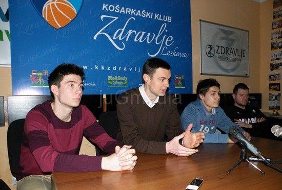 "Košarka – kadeti ""Zdravlja"" u nedelju protiv ""Crvene zvezde"""