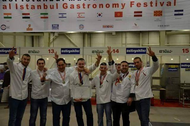 Leskovački kuvari osvojili pet medalja u Turskoj