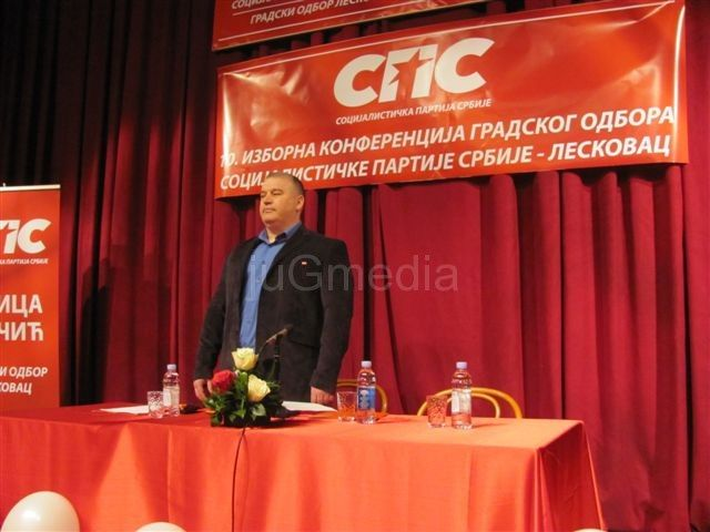 Novi lider SPS-a Aleksandar Đurović
