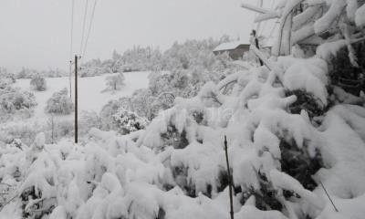 U zavejanim selima na jugu Srbije malo potrošača bez struje