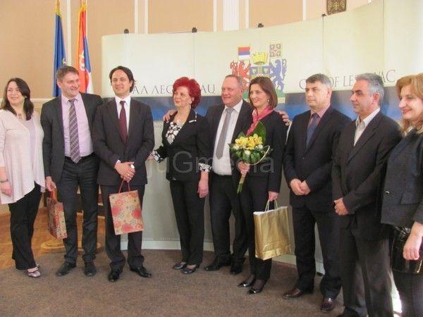 Ambasadorka Makedonije posetila Leskovac