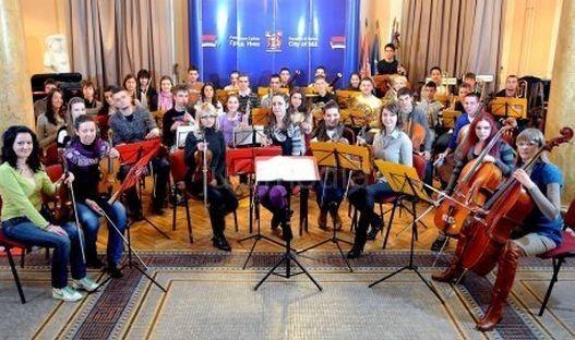 """Podrška Omladinskoj filharmoniji """"Naissus"""""""