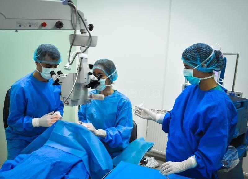 Na operaciju katarakte jula 2016. godine