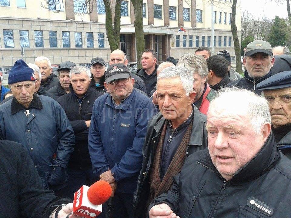 Duvandžije protestovale ispred Apelacionog suda