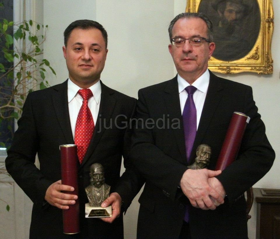 """Naissusu"" priznanje Kapetan Miša Anastasijević"