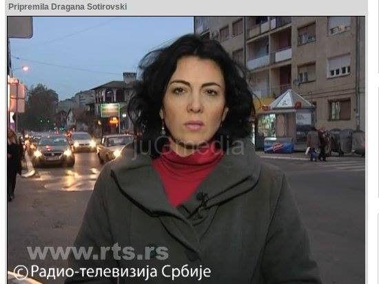 Protesti kao podrška novinarki Dragani Sotirovski