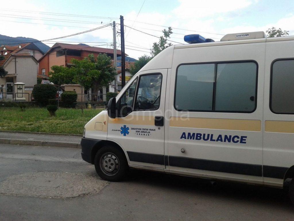 U saobraćajnoj nezgodi povređen pacijent u sanitetskom vozilu
