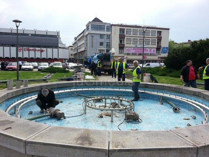 Čiste se gradske fontane