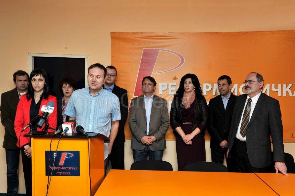 """Reformistička stranka traži podršku za """"ozdravljenje društva"""""""