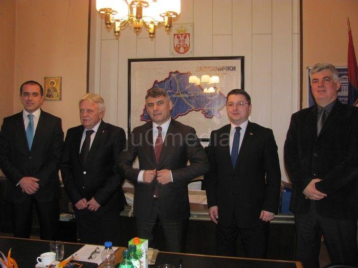 Saradnja pet okruga na jugoistoku Srbije
