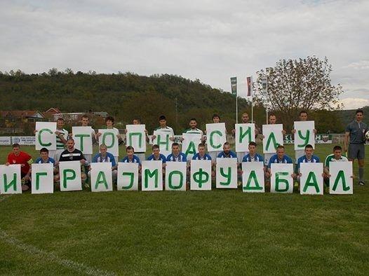 FK Radan: Stop nasilju, igrajmo fudbal