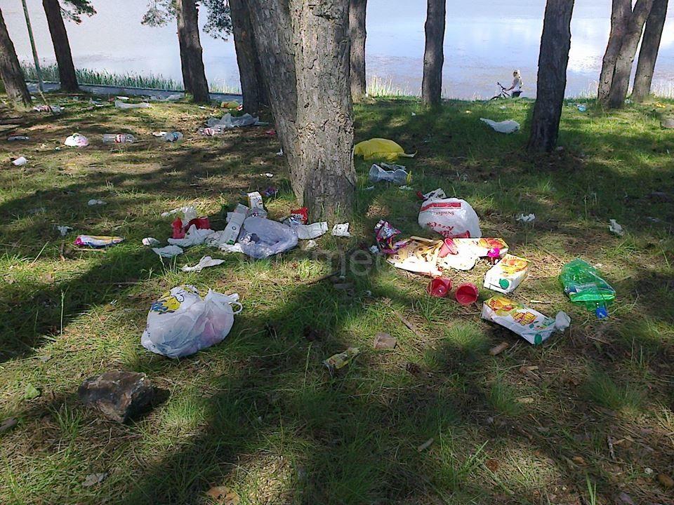 Izletnici u okolini Vranja ostavili haos za sobom