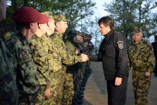 GAŠIĆ:Srbije podigla nivo borbene gotovosti