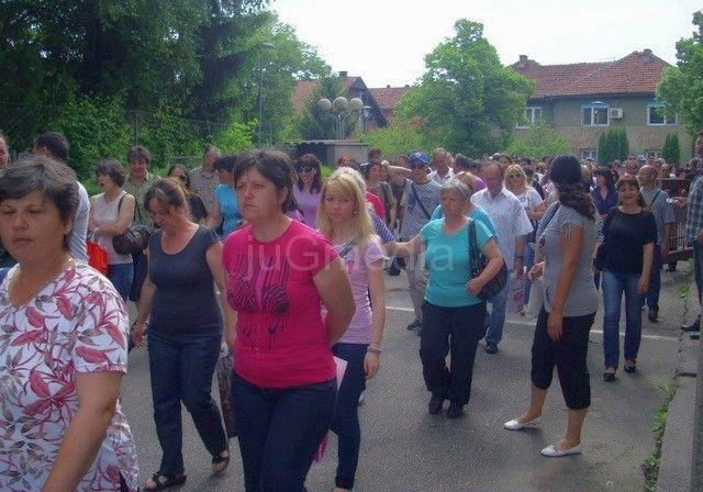 Radnici AHA Mure ponovo štrajkuju