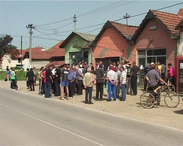 Protest zbog ukidanja autobuskog stajališta