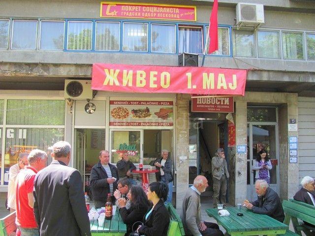 Pokret socijalista slavio Prvi maj