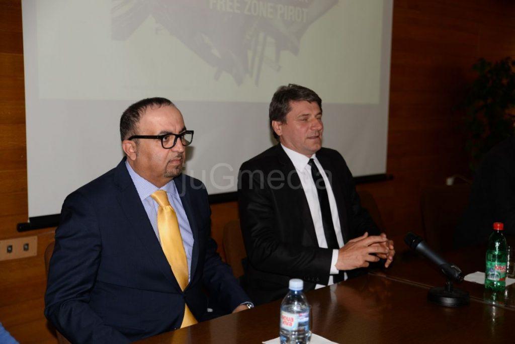 "Državno-privredna delagacija iz UAE u Slobodnoj zoni Pirot i ""Tigru"""