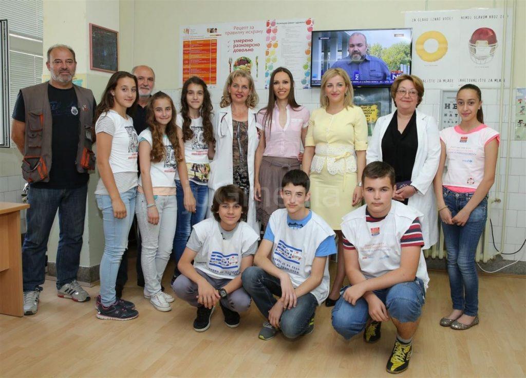 Digitalna televizija Savetovalištu za mlade