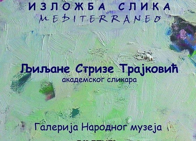 Večeras otvaranje izložbe vranjske umetnice Ljiljane Strize Trajković