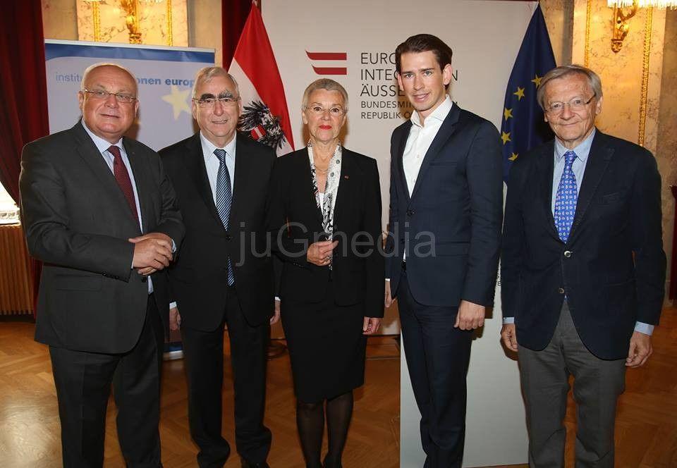 Predstavnici Bele Palanke u Beču