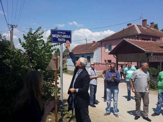 Miki Rakić dobio svoju ulicu u Žitorađi