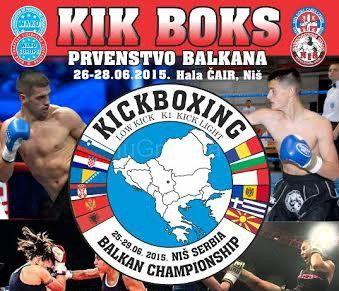 Kik boks prvenstvo Balkana u Nišu