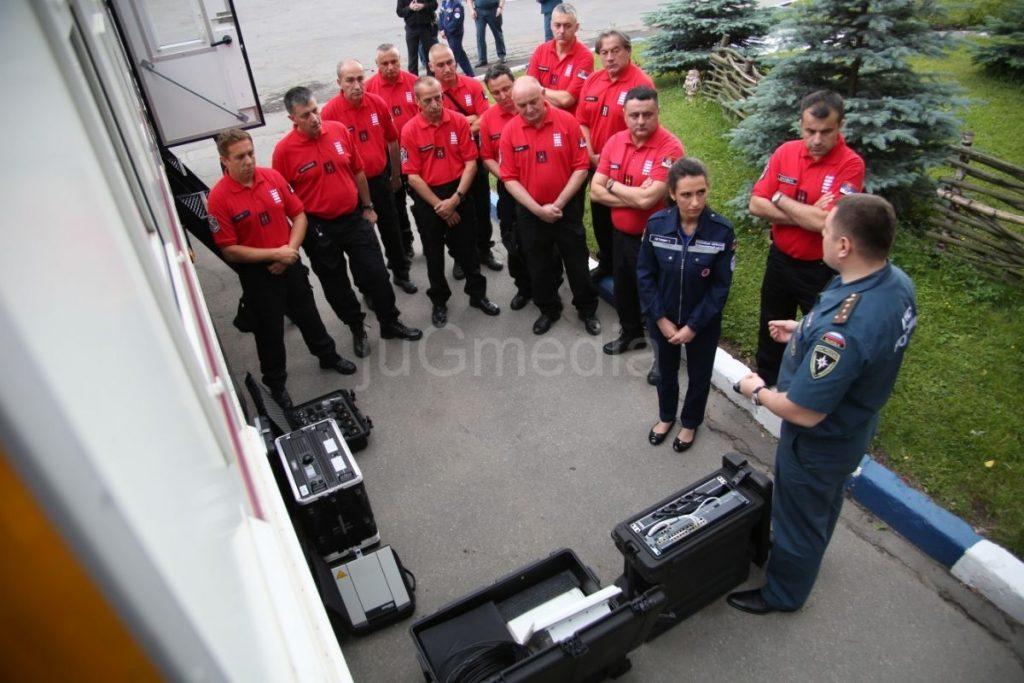 Stručnjaci za vanredne situacije prošli obuku u Rusiji