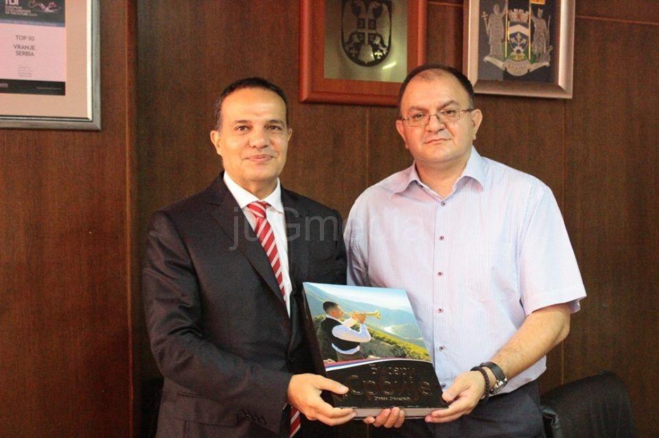 Ambasador Turske u poseti Vranju