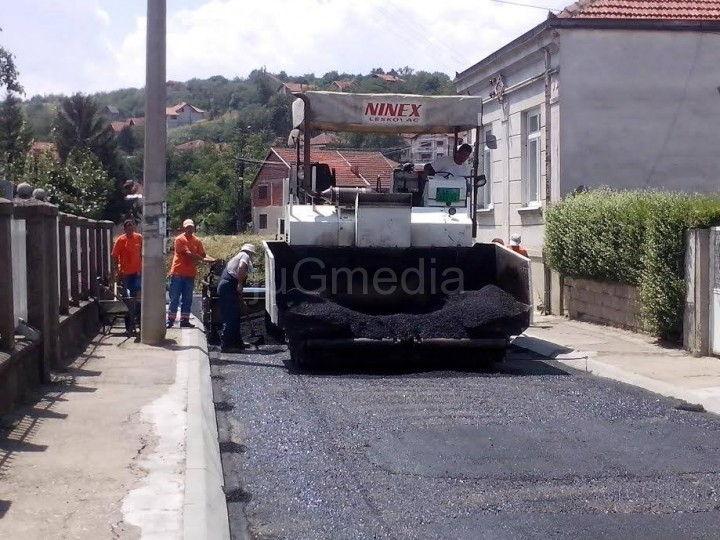 Asfaltirana ulica Janka Katića