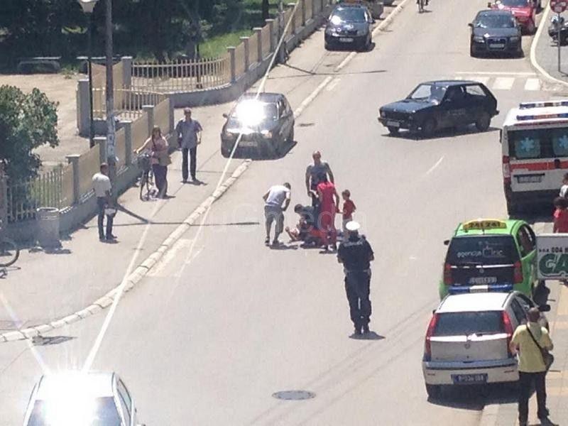 INCIDENT: Blokirao saobraćaj zbog navodnih batina u sudu