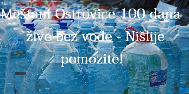 Humanitarna akcija – Voda za decu Ostrovice