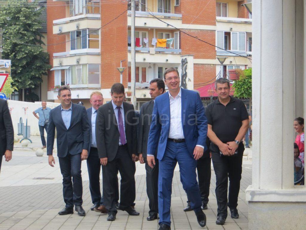 Vučić prvi premijer u poseti Preševu