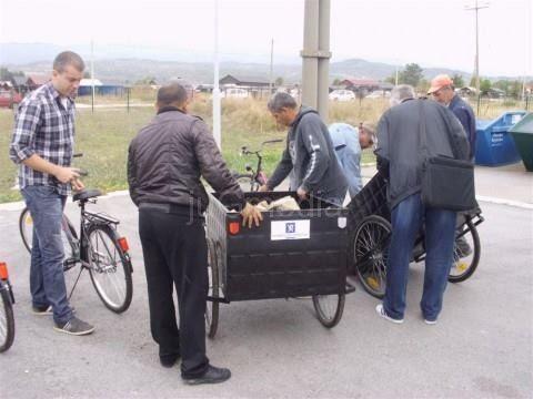Stižu trocikli za sakupljače sekundarnih sirovina