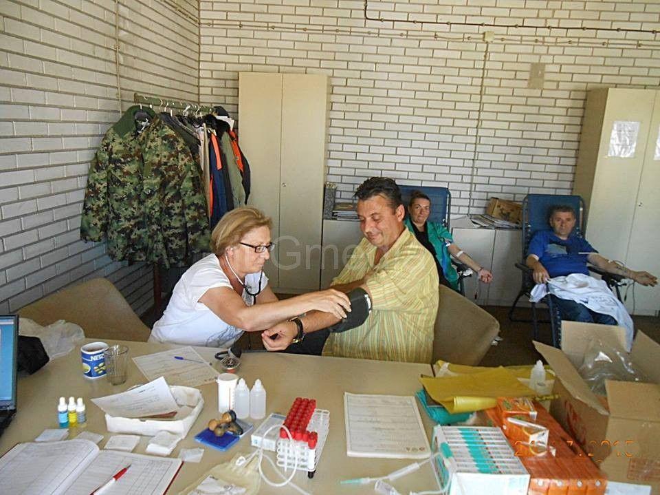 Akcija dobrovoljnog davanja krvi u Poljanici