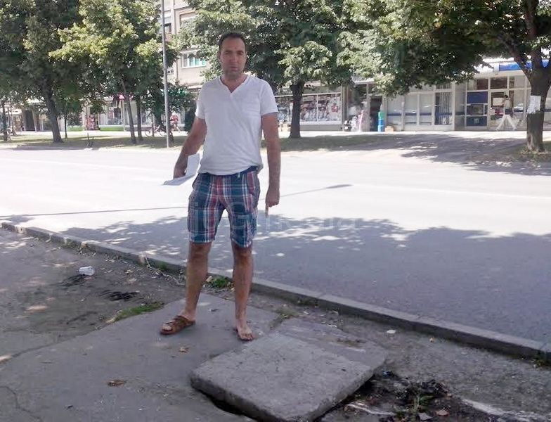 Beograđanin prvi put došao u Leskovac i upao u šaht