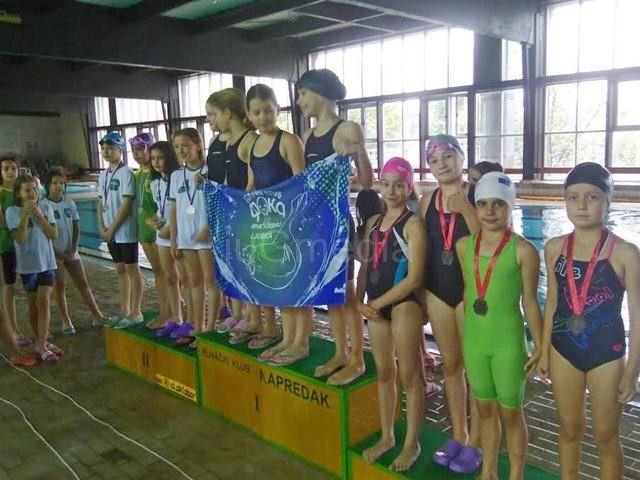 Plivači osvojili sedam medalja u Kruševcu