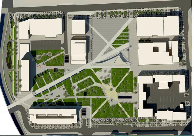 Prezentacija novog gradskog trga