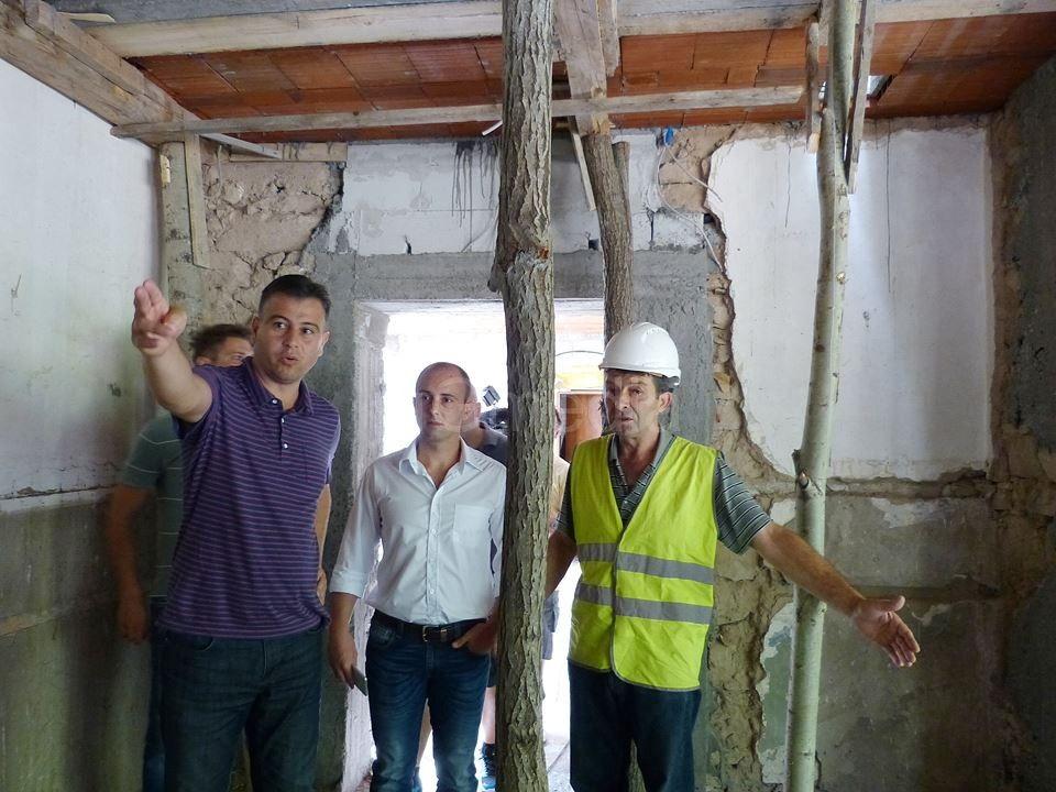 Rekonstrukcija bivše vojne karaule u Dojkincima