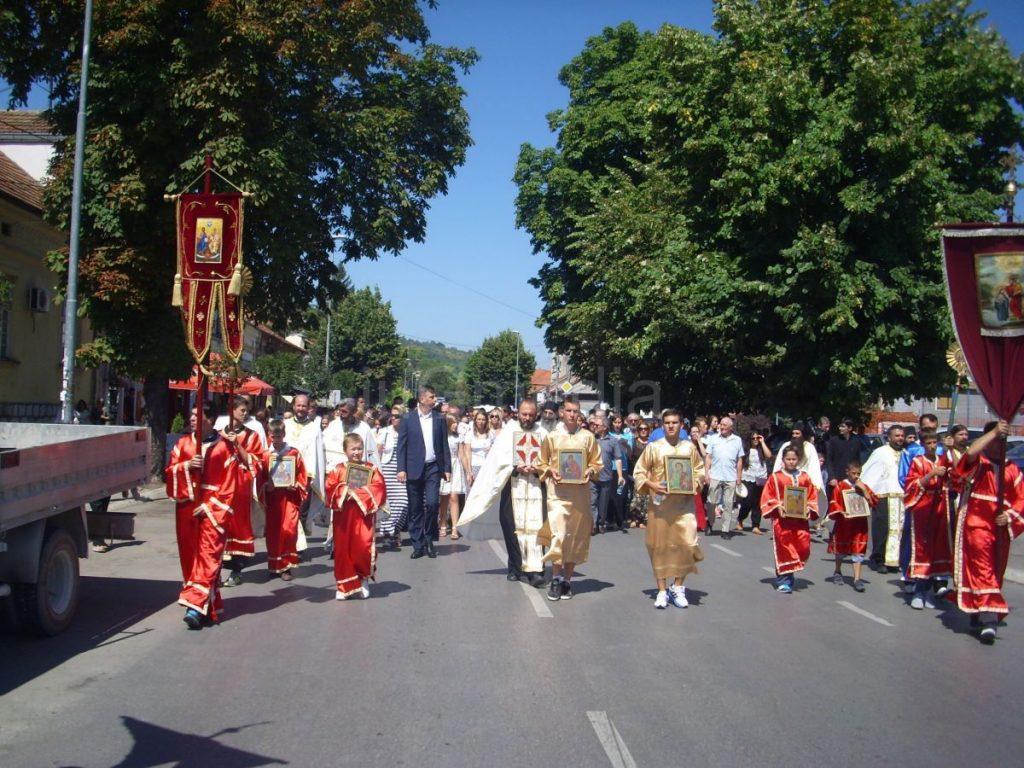 Obeležena gradska slava Uspenije Presvete Bogorodice