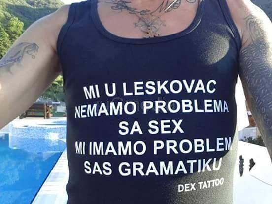 Sex i gramatika na leskovački način