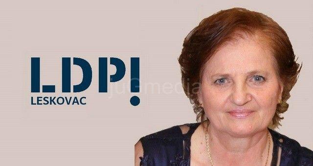 Stanojka Noka Perić poverenica LDP u Leskovcu